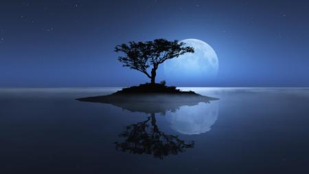 Full-Moon-Night-Nature-Wallpapers